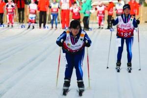 Paola Begliardo sul podio dei Mondiali Invernali Special Olympic