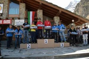 Campionato ANA di Scialpinismo: la Sezione di Cuneo quarta a Rhêmes Notre Dame (AO)