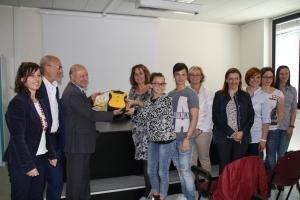 Un defibrillatore al Liceo Ancina di Fossano