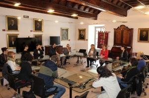 """Alba, i giovani del progetto """"Dire, fare, Partecipare"""" hanno incontrato l'assessore regionale alle Politiche giovanili Monica Cerutti"""