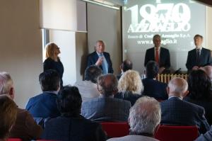 Il Banco Azzoaglio presenta i PIR, Piani individuali di risparmio