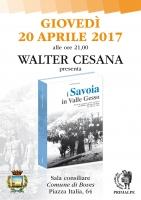 """Presentazione del libro """"I Savoia in Valle Gesso"""""""