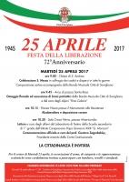 Cerimonia del 25 aprile a Savigliano