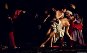Tableaux vivants di Caravaggio