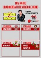Radio-dibattiti con i candidati sindaco di Savigliano, Racconigi, Mondovì, Barge e Bagnolo