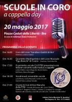 """Cori protagonisti a Bra con """"A cappella day"""""""