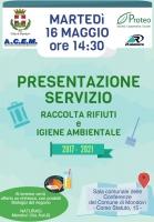Presentazione del servizio di raccolta rifiuti e igiene ambientale