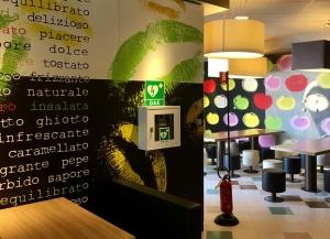 I McDonald's dellaprovincia di Cuneo si dotano di defibrillatori.
