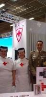 Infermiere volontarie della Croce Rossa di Alba al Salone del LIbro di Torino