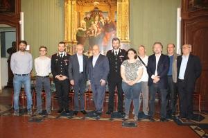 Alba: l'Amministrazione comunale ha consegnato una targa al luogotenente Ignazio Patti