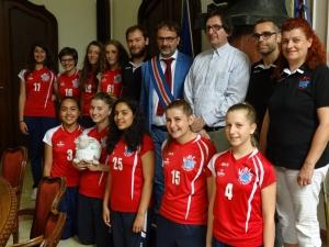 Premiata in Provincia la squadra di volley femminile di Bene Vagienna