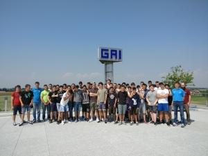 I ragazzi del CNOSFAP di Fossano in visita alla GAI di Ceresole d'Alba.