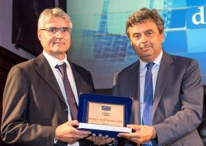 """Alla Banca Alpi Marittime il premio Award """"Creatori di Valore"""" come miglior Banca del Piemonte e valle d'Aosta"""