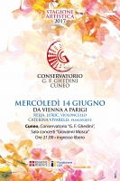 Da Vienna a Parigi, Relja Lubik al violoncello e Caterina Vivarelli al pianoforte