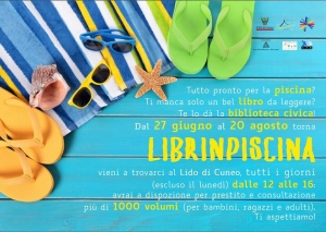 A Cuneo torna Librinpiscina!