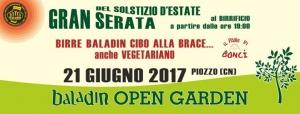 Presentazione del Baladin Open Garden a Piozzo