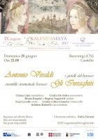 """""""I gioielli del barocco - Antonio Vivaldi e il suo tempo"""" al castello di Racconigi"""