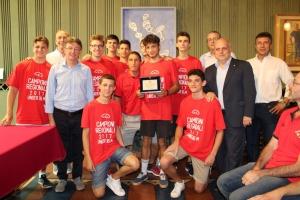 Alba: l'Amministrazione comunale ha premiato l'Olimpo Basket per gli storici risultati raggiunti quest'anno