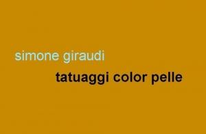 """Reading di """"Tatuaggi color pelle"""" con Simone Giraudi"""