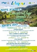 Rassegna Musicale Note d'acqua 2017
