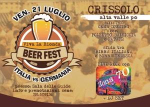 Viva La Bionda - Beer Fest - Italia Vs Germania