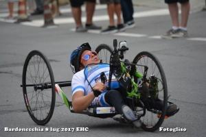 Esordio incolore per Mattea Marchisio al Giro d'Italia di handbike