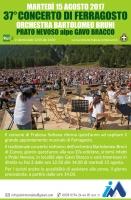 A Frabosa Sottana il concerto di Ferragosto 2017