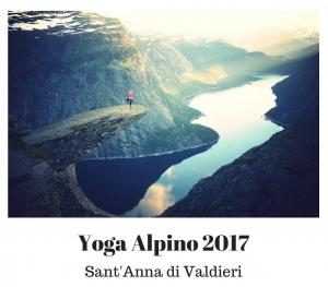 Yoga alpino in Valle Gesso