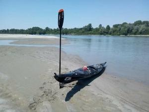 Ferragosto in kayak sul Po