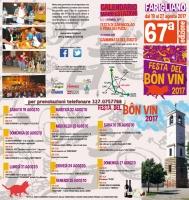 """""""Festa del bon vin"""" a Farigliano"""