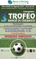 3° Trofeo Banca di Cherasco, in campo Bra, Roretese e Cheraschese