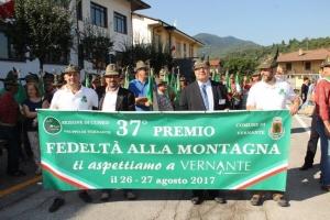 Si avvicinano i festeggiamenti per il 37° Premio Fedeltà alla Montagna. Sabato 26 e domenica 27 agosto attesi oltre 2500 alpini a Vernante.