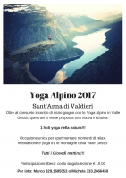 Yoga alpino in Valle Gesso