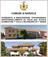 Narzole: lavori alle scuole ultimati a tempo record