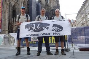 WhatsAlp - In cammino sulle Alpi da Vienna a Nizza