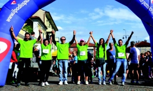 Terza Fitwalking Solidale e Sport in Piazza a Busca