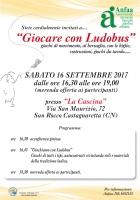 Sabato 16 settembre, affido e affiancamento in festa a San Rocco Castagnaretta