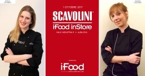 Lezioni di cucina aperte al pubblico allo Scavolini Store Alba con le blogger di iFood Adele Gilardo e Chiara Lazzarin