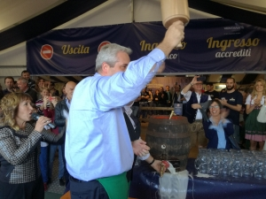 Inaugurato l'Oktoberfest di Cuneo