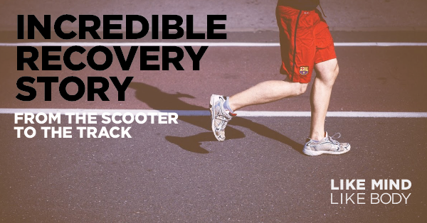 TMS recovery story testimonial on the podcast Like Mind Like Body