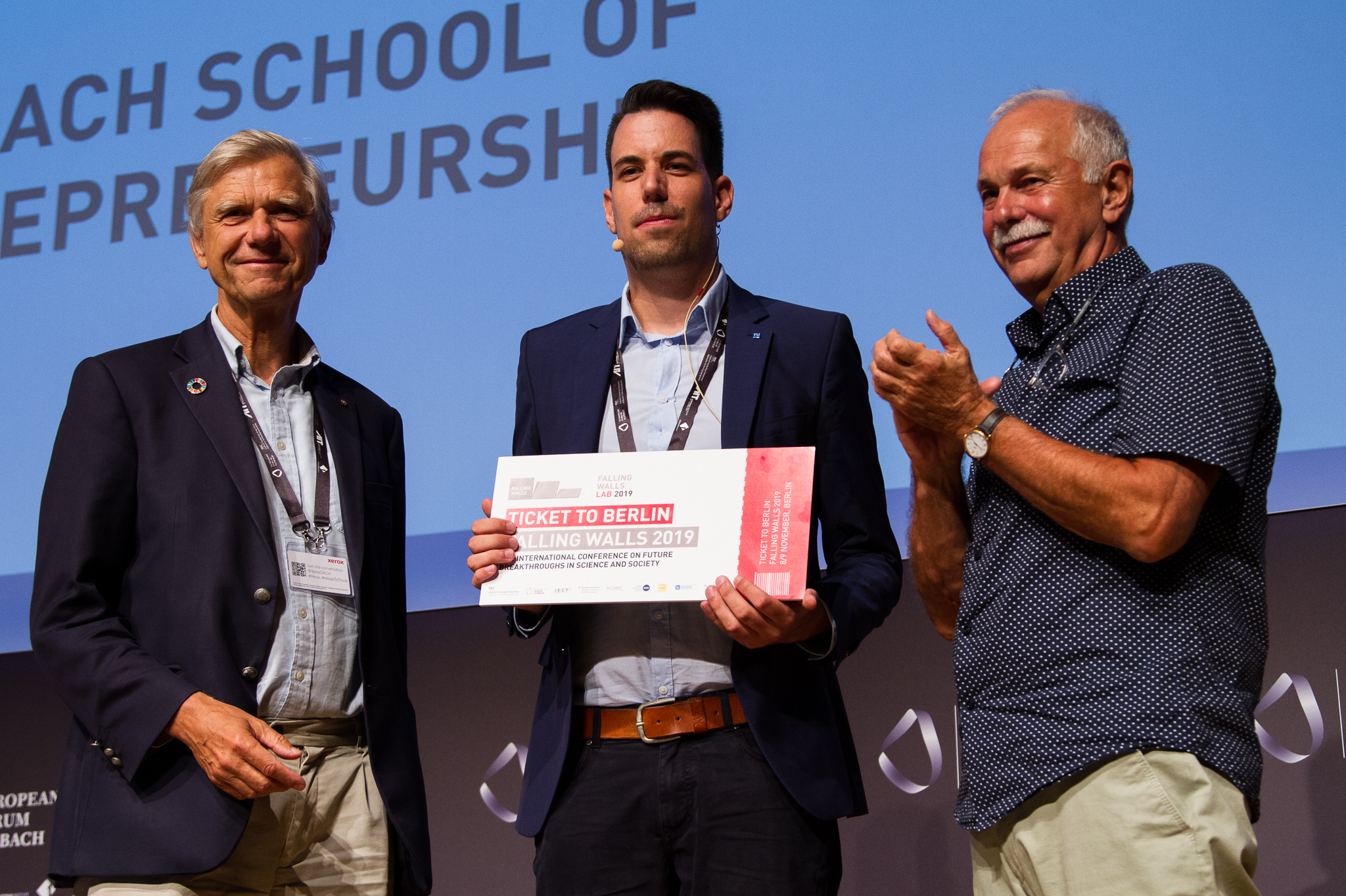 1st place at pitch competition @ European Forum Alpbach cover image