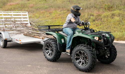 Atv Towing Learn More