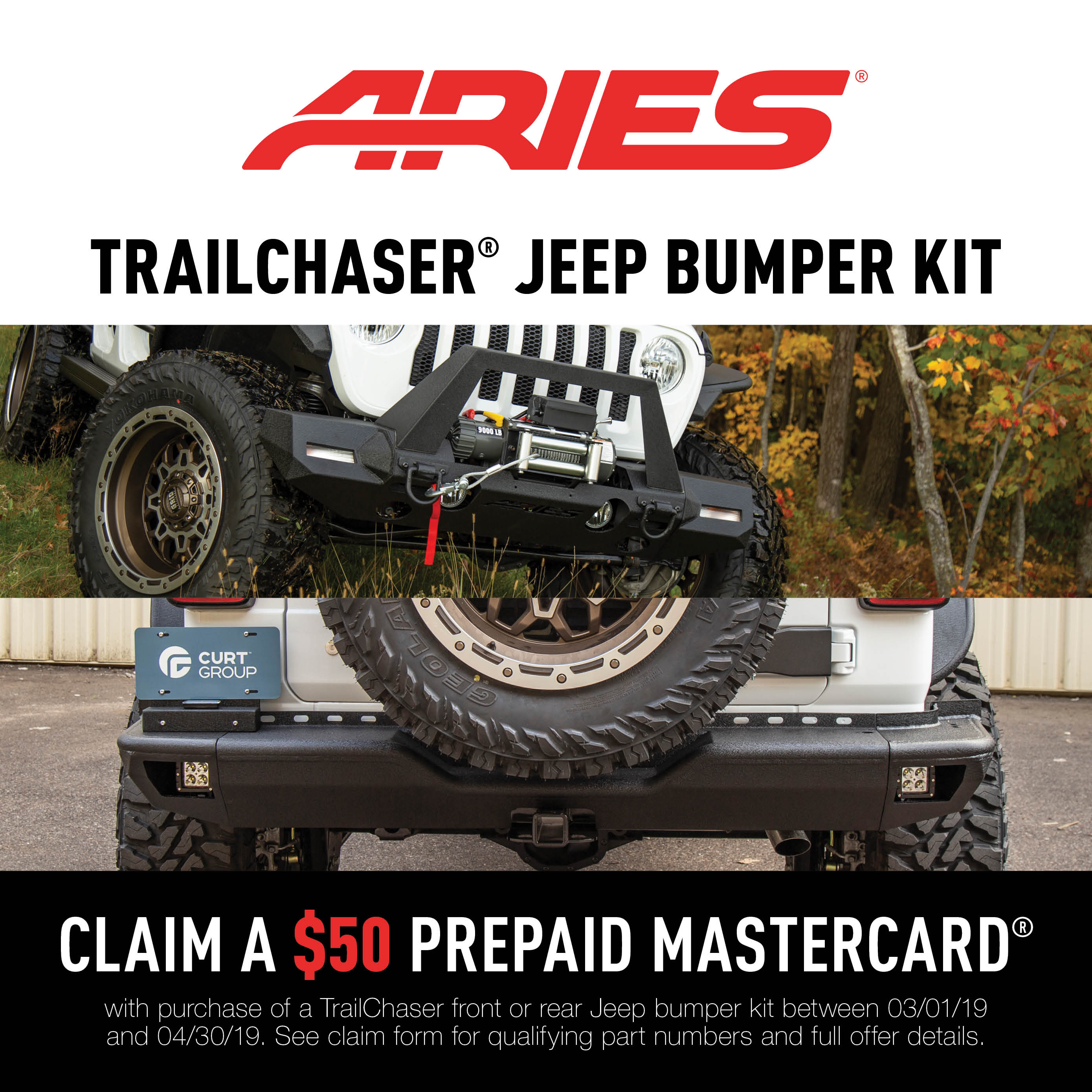 TrailChaser® Bumpers Promotion 2019