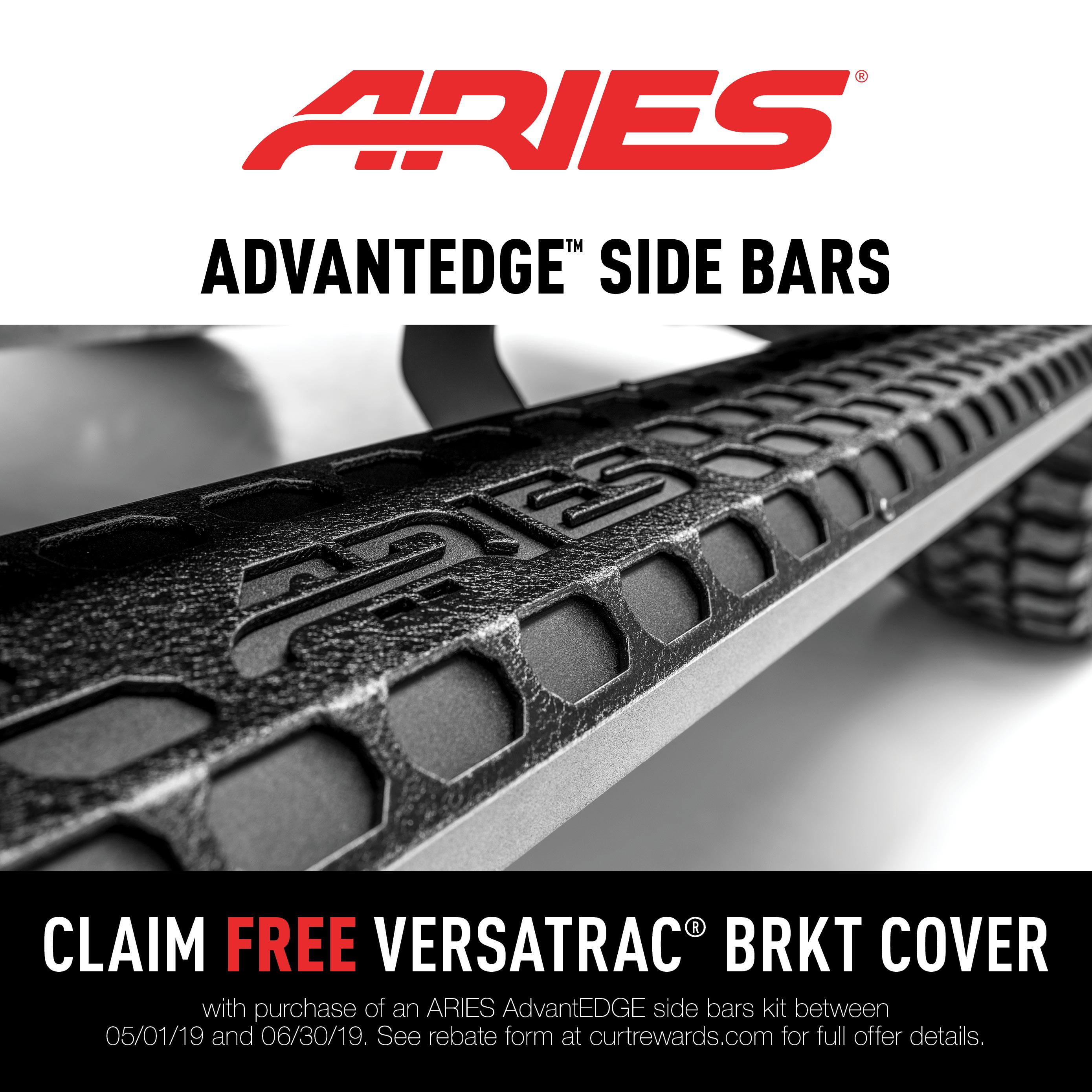 AdvantEDGE™ VersaTrac Bracket Covers Promotion 2019