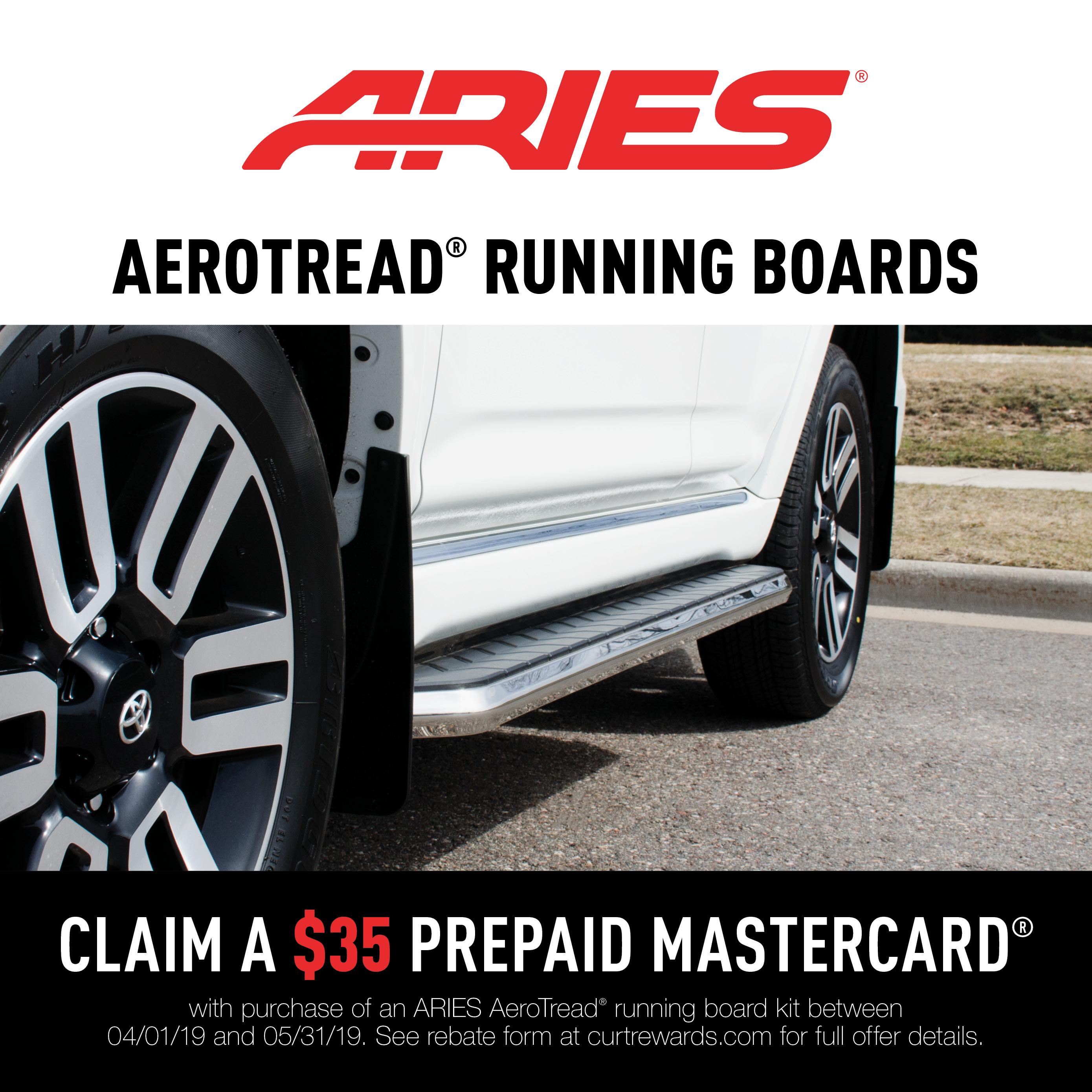 AeroTread® Running Boards Promotion 2019