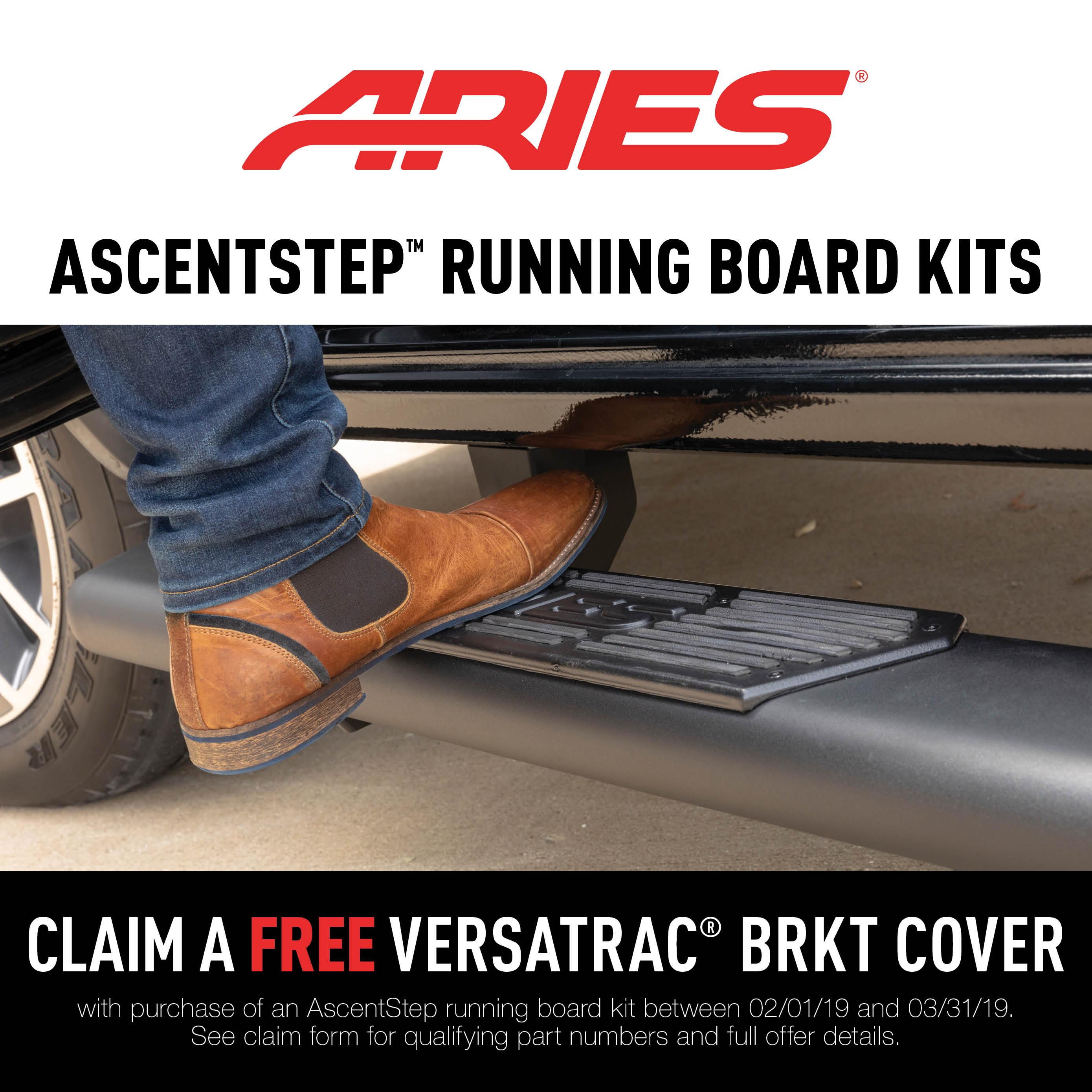AscentStep™ Running Board Promotion 2019