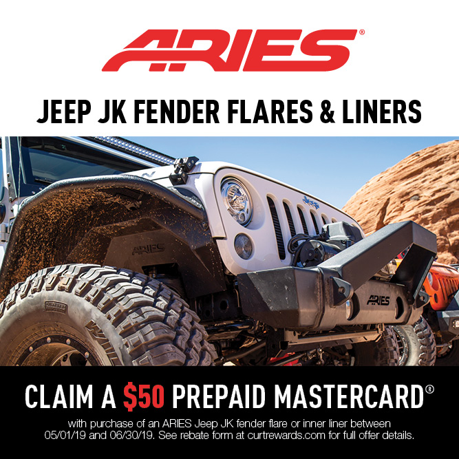 Jeep JK Fender Flares & Liners Promotion 2019