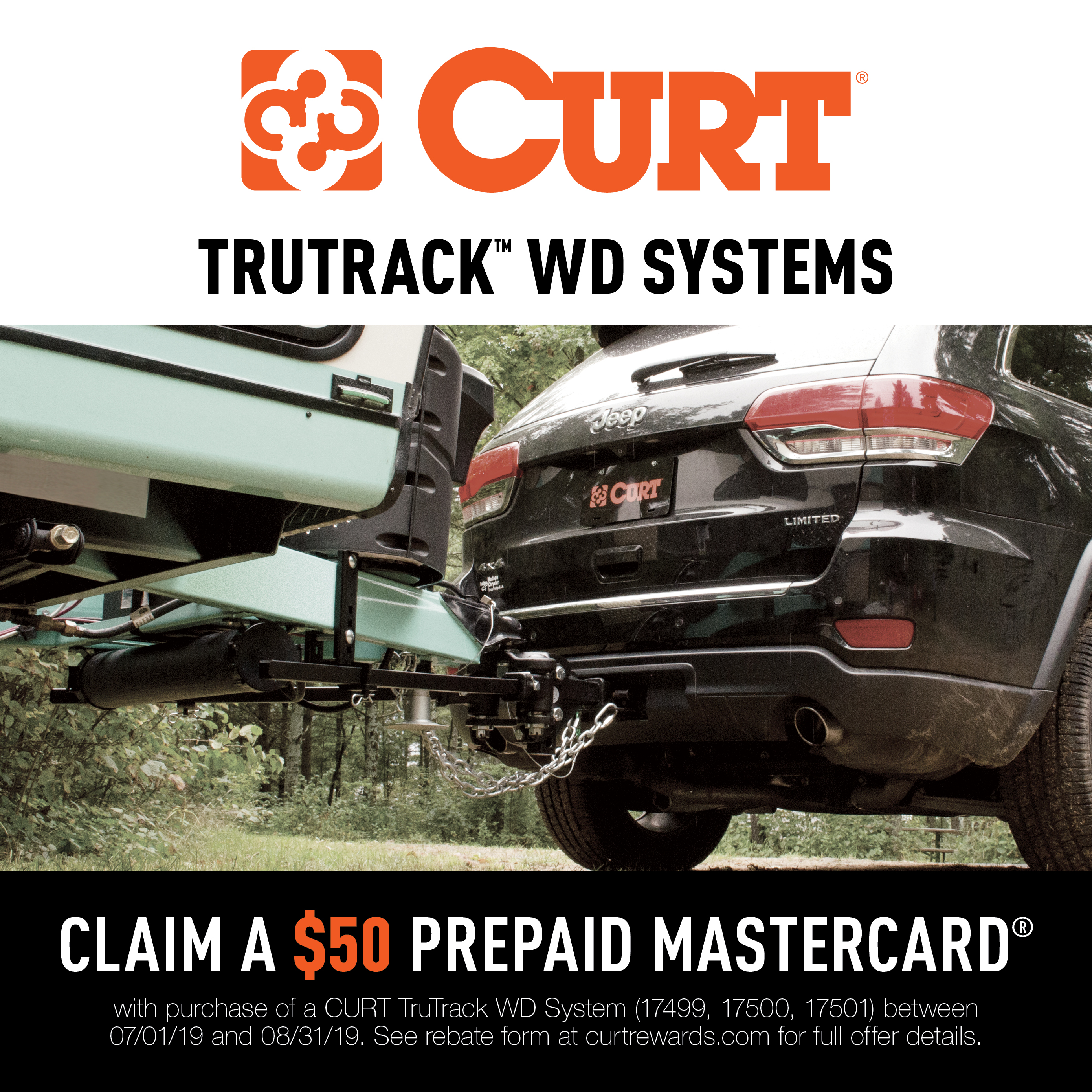 TruTrack™ Weight Distribution Hitch with Sway Control Promotion 2019