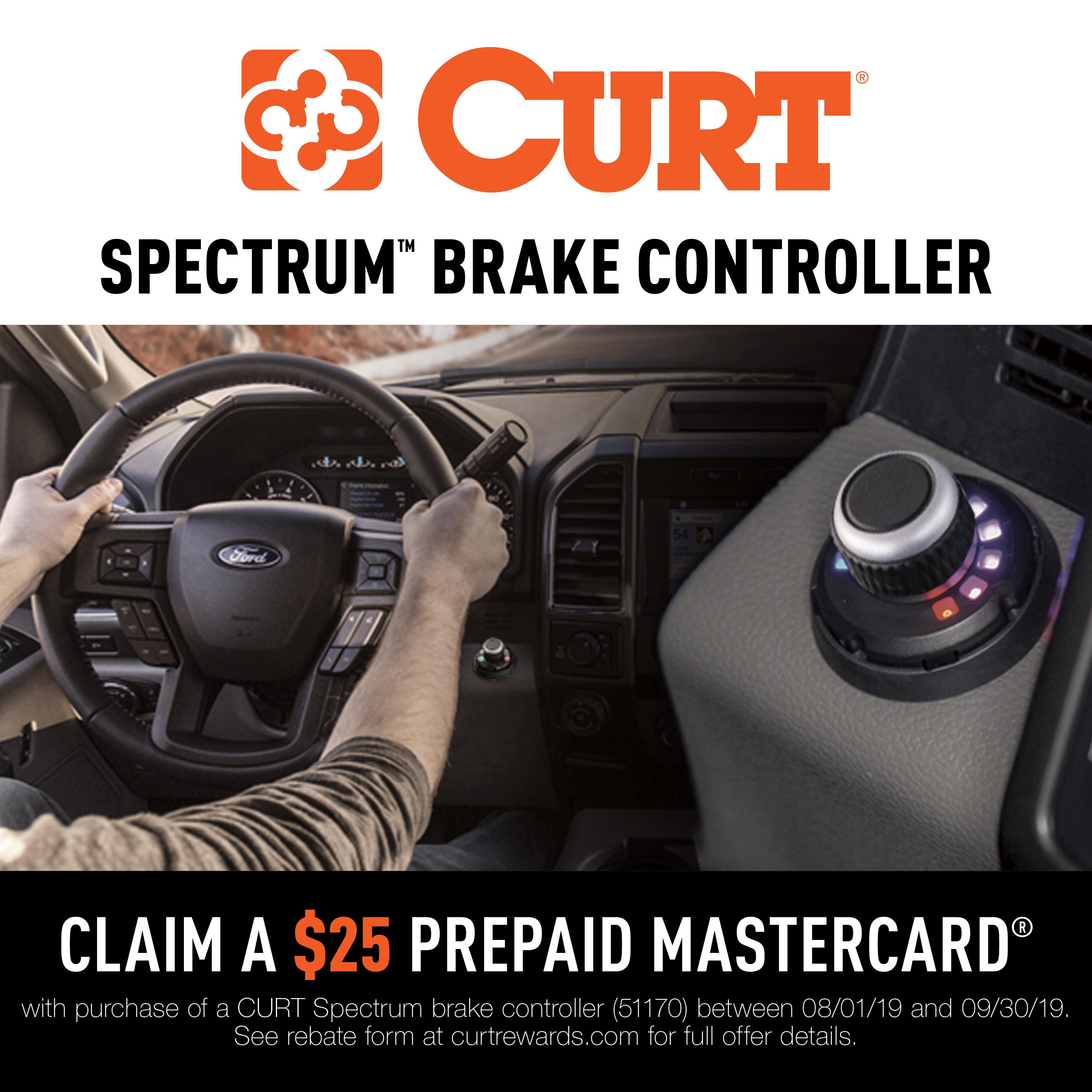 Spectrum™ Trailer Brake Controller Promotion 2019
