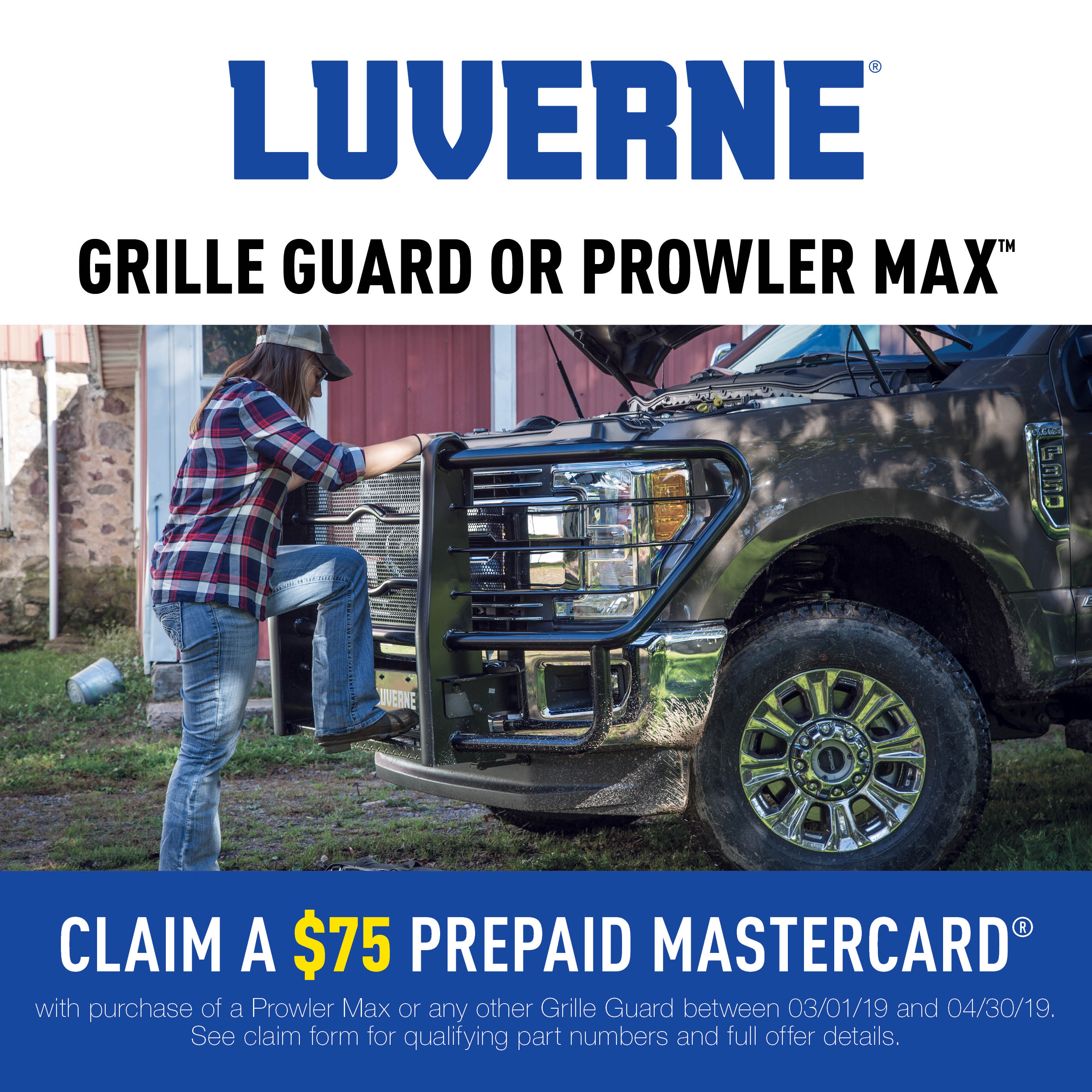 Grille Guards and Prowler Max™ Promotion 2019
